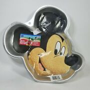 Wilton Mickey Mouse Head Cake Pan Disney Clubhouse 2105-7070 With Instructions