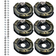 3 Sets 12 X 2 Electric Trailer Brake Assembly 5200 6000 7000 Axle For Dexter