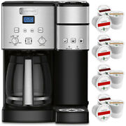 Cuisinart Ss-15 12-cup Coffee Maker And Single-serve Brewer Stainless Steel+12k-cu