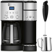 Cuisinart 12-cup Coffee Maker And Single-serve Brewer Ss-15 W/ Milk Frother An