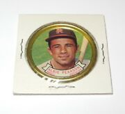 1964 Topps Baseball Coin Pin 111 Albie Pearson Los Angeles Angels Near Mint