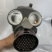 Authentic Vintage 1940 Canister Gas Mask. Small U