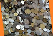 Job Lot Of Unsorted Unchecked Kilo Of World Coins Free Uk Postage