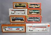 Life Like Tyco Lionel Ho Assorted Freight Car Lot [8] Ex/box