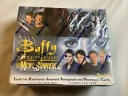 Sealed New Inkworks' Buffy And The Men Of Sunnydale Trading Card Box Rare 2005