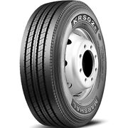 4 New Kumho Krs02e 295/75r22.5 Load H 16 Ply Steer Commercial Tires