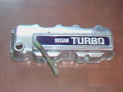 Nissan Blue Bird 910 4-cylinder Tappet Cover Turbo Logo Rare Out Of Print