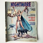 Nightmare No. 20 August 1974 - The Scream And The Nightmare Skywald Horror Mood