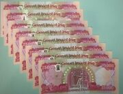 200000 Iraqi Dinars 2018 With Keyhole Security Features - Unc | 8 X 25000 Iqd