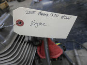 2005 Polaris Phoenix 200 Complete Running Engine With Clutches