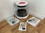 Nuwave Pro Infrared Convection Oven 20331 Red And White With Paperwork Cd