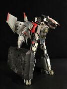 Transformation Thunder Warrior Blitzwing Airplane Metal Action Figure Toys Gift
