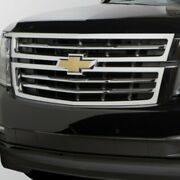 Oem New 2015-20 Gm Chevrolet Suburban Grille In Chrome With Bowtie Logo 23320672