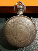 .925 Sterling Pyx Vintage Catholic Silver High Capacity 100+years Old Tridentine