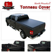 For 2017-2021 Honda Ridgeline Lock And Roll Up Soft Tonneau Cover Black Truck Bed