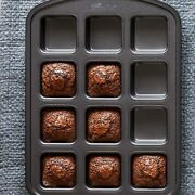 Pampered Chef Brownie Pan Mini Loafs Non-stick Heavy-duty Aluminized Steel
