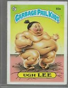 Q12- Rare Old Vintage Retro 1985 Garbage Pail Kids Gpk Topps Collection Card 83a