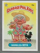Q17- Rare Old Vintage Retro 1985 Garbage Pail Kids Gpk Topps Collection Card 78a