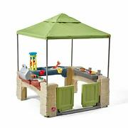Step2 All Around Playtime Patio With Canopy Playhouse Model874100