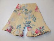 2 Rare Parsonage Floral Standard Pillowcases French Country Cottage