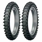 Tire Set Dunlop 100/90-19 57m + 110/90-19 62m Geomax Mx12