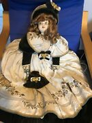 70cm Rare Doll Vintage Antique Used. Originally From Italy. Maybe Porcelain