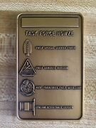 Vintage First Special Service Force Task Force Howze Military Medal Plaque