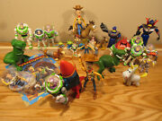 Massive Toy Story Figurine Lot Action Figures