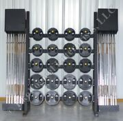 Iron Grip Group Strength Set W/ 20 Barbells And 120 Urethane-coated Weight Plate