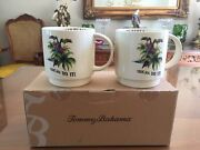 """Tommy Bahama """"toucan Do It"""" Set Of 2 Collector Series Large Mugs New"""