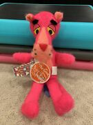 Vintage 1964 Mighty Star The Pink Panther Plush Doll New Rare