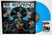 The Offspring Signed Let The Bad Times Roll Vinyl Lp Record Album Auto +jsa Coa