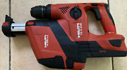 Hilti Cordless Hammer Drill Te 4-a18 With 5.2ah Battery/charger+vacuum, Case