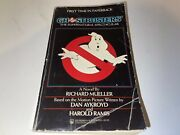 Rare Ghostbusters Supernatural Spectacular Book 1985 First Print Isbn 0812585984
