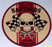 Mean Old Bastards Hot Rods And Motorcycles Vinyl Decal Sticker 4146