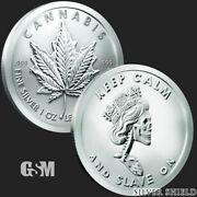 5 - 1 Oz .999 Fine Silver Rounds - 2021 Royal Highness - Bu - New - In Stock