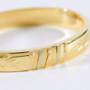High-quality Ladies Bracelet In 18 Carat Gold With Delicate Decorations