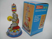 And Rare Boxed Tin Toys Elephant Circus Acrobatics Germany Manufactured By