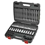 84 Piece Master Hex And Torx Bit Socket Set | Sae And Metric S2 Steel Bits |