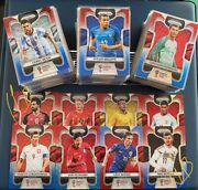 2018 Panini Prizm World Cup Prizms Red And Blue Wave Set 300 Cards