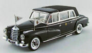 Model Car Scale 143 Rio Mercedes 300 D Pope John Xxiii 23 Figures New
