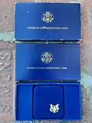 1987 Constitution Gold 5 Dollar Uncirculated Coin W/ Box Invest