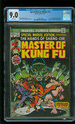 Special Marvel Edition 15 Master Of Kung Fu Cgc 9.0 Vf/nm 1st App Shang Chi