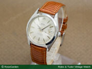 Tudor Watch Decabara Oyster Date Silver Dial Rare Red Black Ref.7966