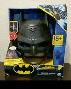 Batman Dc Voice Changing Mask 15+ Phrases Bat-tech Spin Master New
