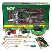 Victor 0384-2100 Journeyman 540/300 Edge 2.0 Acetylene Cutting Torch Outfit