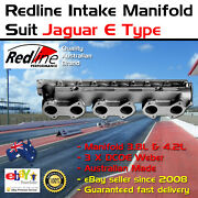 New Intake Inlet Manifold Fits Jag E Type 3.8 4.2 3 X Dcoe