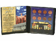 Three First Commemorative Mint Lincoln Penny Collections Wheat, Memorial, Wwii