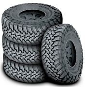 4 New Toyo Open Country M/t Lt 285/70r17 121/118p E 10 Ply Mt Mud Tires