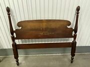 Very High End Antique Bed For Cheap Vintage Olde Salem Group By Drexel Bed 1023